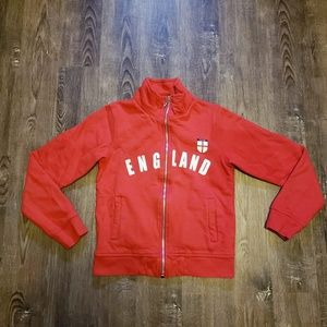 FCUK ENGLAND RED SWEATER SMALL